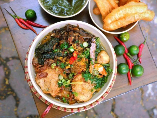 Bánh Đa Cua Đồng Lạch Tray
