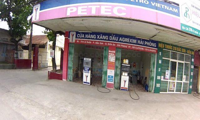 CH xăng dầu- CN Công ty  CP nông sản agrexim hải phòng