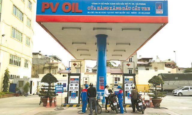 Công ty CP xăng dầu dầu khí PVOIL Hải Phòng