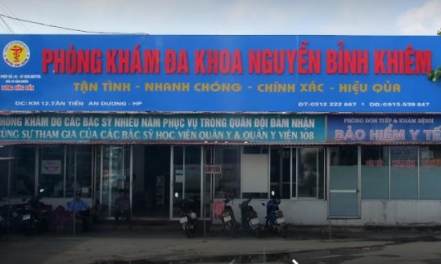 Phòng Khám Đa Khoa Nguyễn Bỉnh Khiêm