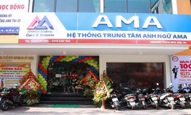 TRUNG TÂM TIẾNG ANH AMA HẢI PHÒNG