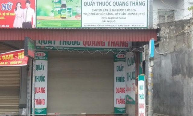 Nhà Thuốc Quang Thắng